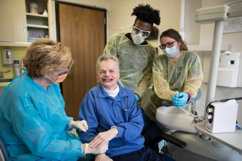 Touro dental students will conduct weekly rotations in WIHD's dental department, working with patients there