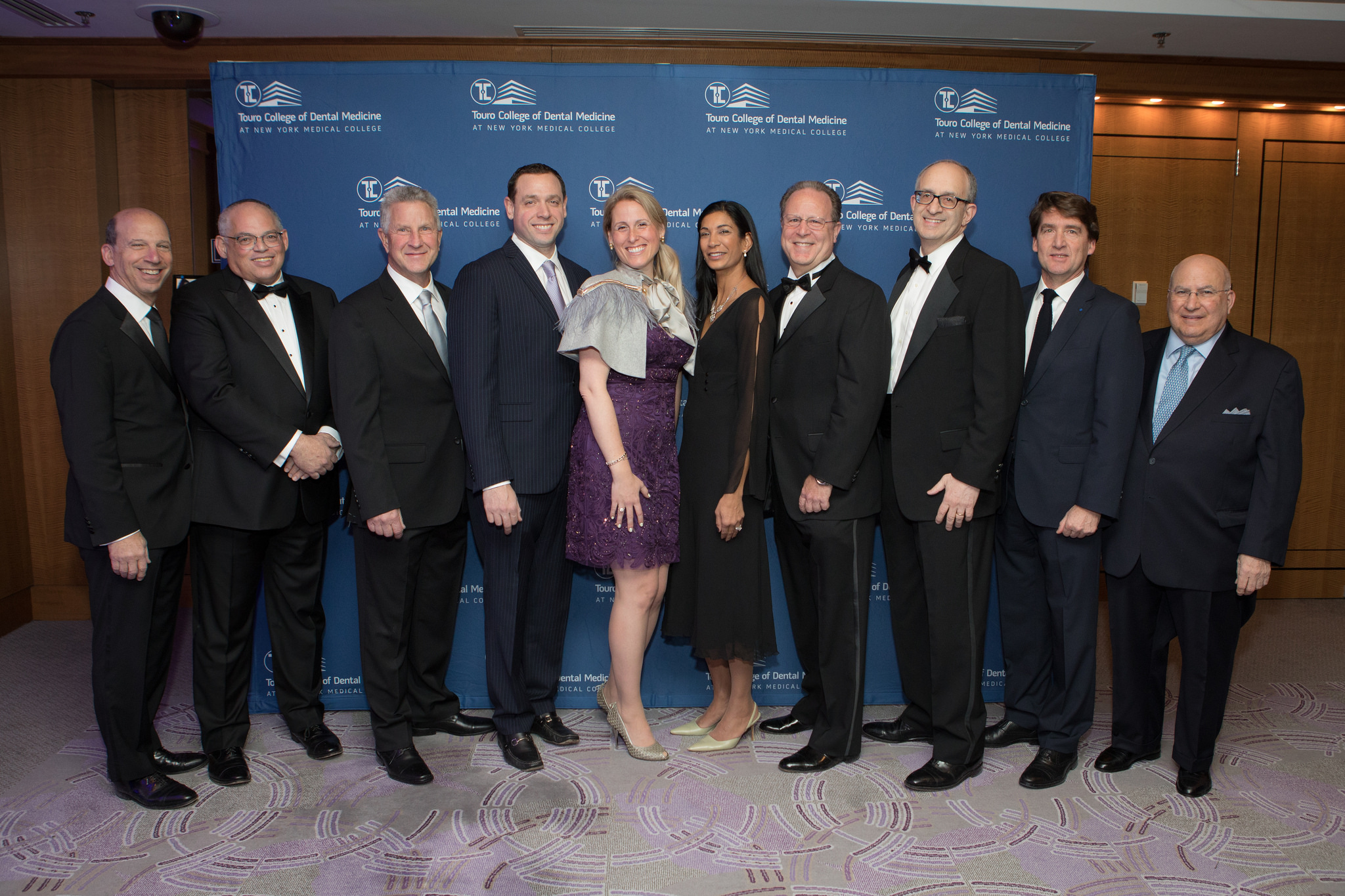 The 2018 Honorees at TCDM\'s 3rd Annual Gala Benefiting Student Scholarships and Patient Care
