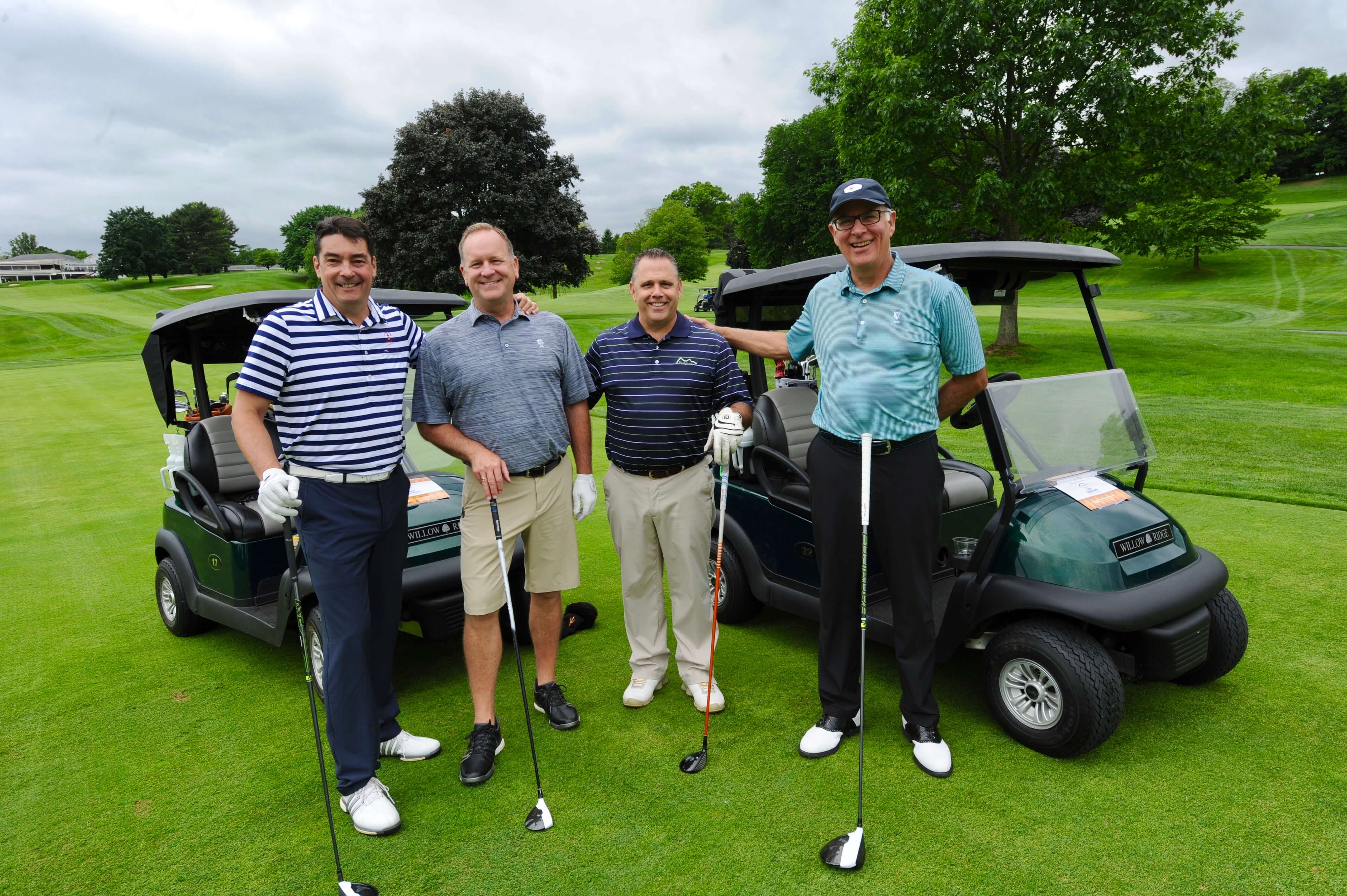Golf Championship winning team from Brasseler USA: Ken Frain, Colan Rogers, Bill Eisenhauer and Steve Sloane.