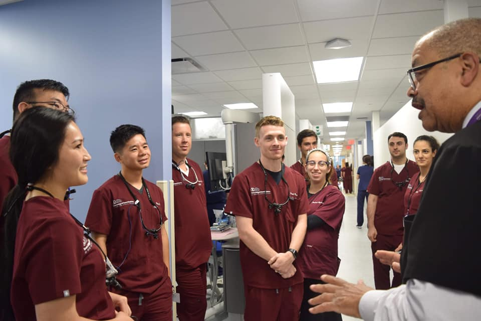 The Class of 2021 joined Touro Dental Health, Providing Patient Care