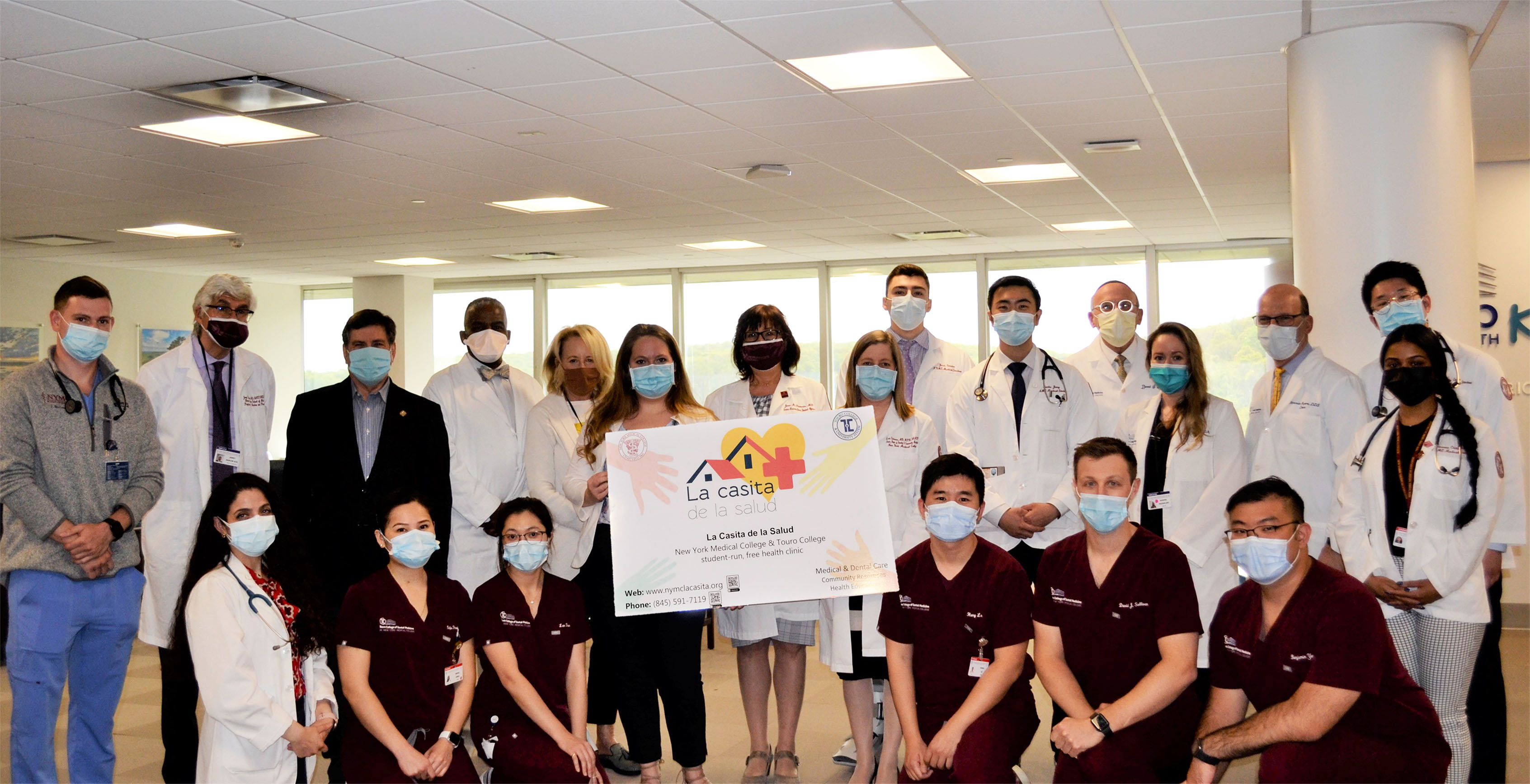 NYMC and TCDM students and faculty partner to deliver free medical and dental services