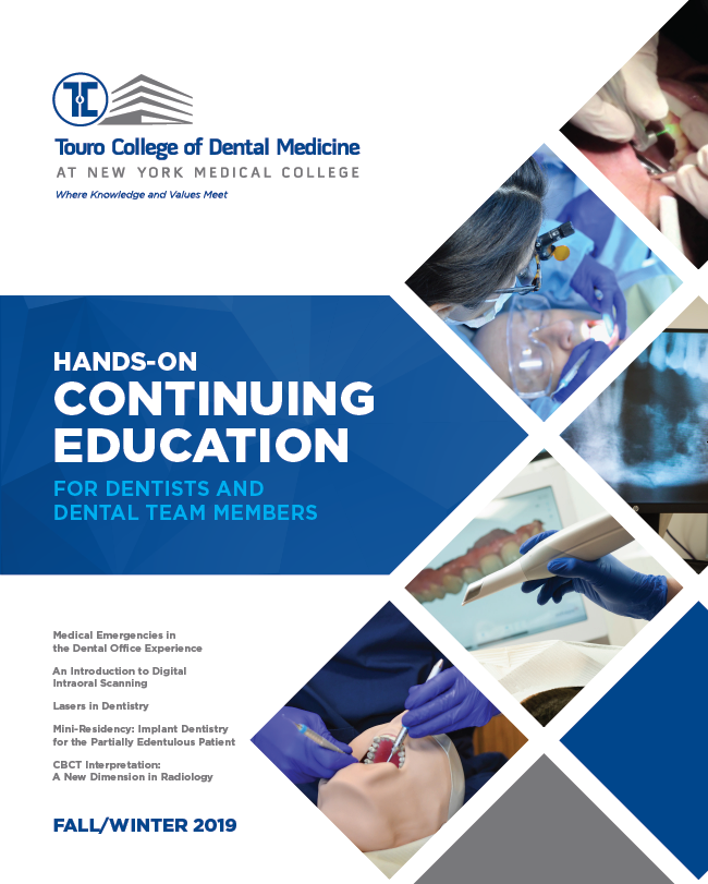 Touro College of Dental Medicine Launches Hands-On