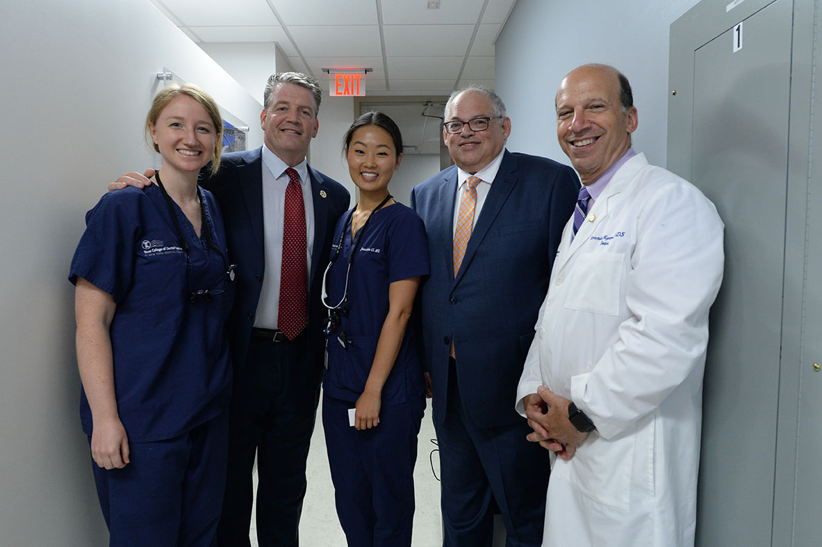 Inaugural Class Of Touro College Of Dental Medicine Begins Providing