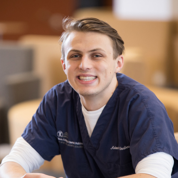Touro College of Dental Medicine student Adam Gadbois