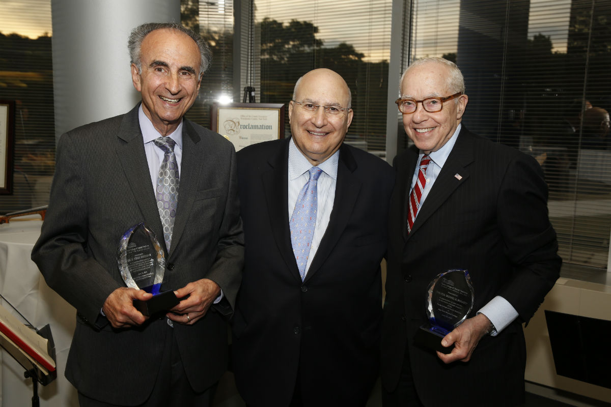 The Touro College of Dental Medicine celebrated its inaugural year with a  dinner at which Dr